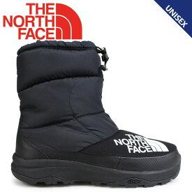ノースフェイス THE NORTH FACE ヌプシブーティ ブーツ メンズ レディース NUPTSE DOWN BOOTIE ブラック NF51877 [11/21 再入荷]