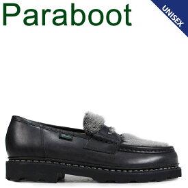 PARABOOT パラブーツ ランス ローファー シューズ メンズ レディース REIMS ブラック 黒 102985