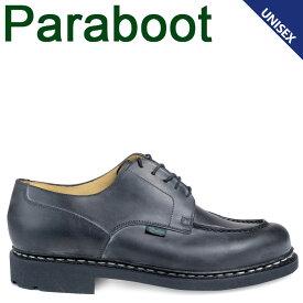 PARABOOT シャンボード パラブーツ CHAMBORD シューズ チロリアンシューズ 710709 メンズ レディース ブラック 黒 [4/7 追加入荷]