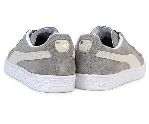 PUMAプーマスエードクラシックスニーカーSUEDECLASSIC+352634-66メンズレディース靴グレー[12/14新入荷]