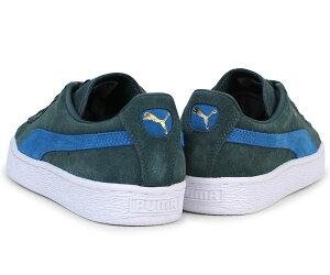 PUMAプーマスエードクラシックスニーカーSUEDECLASSIC+363242-30メンズレディース靴グリーン[12/14新入荷]