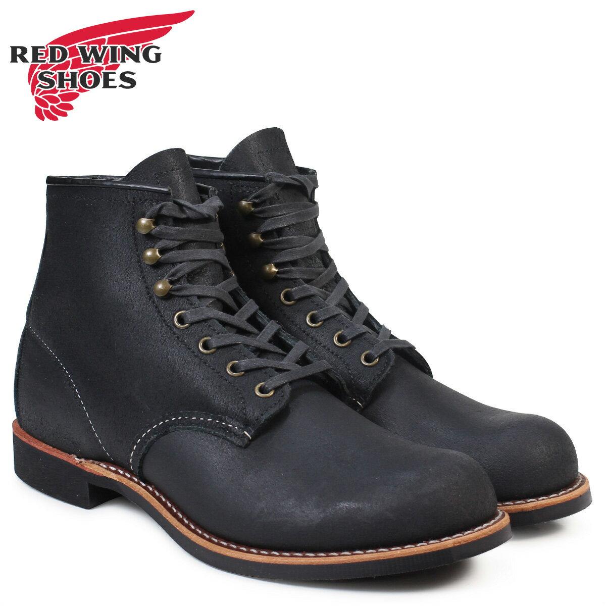 RED WING アイリッシュセッター レッドウィング 2955 ブーツ BLACKSMITH Dワイズ ブラック メンズ