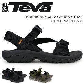 テバ Teva サンダル メンズ ハリケーン XLT2 HURRICANE CROSS STRAP ブラック 黒 ダークオリーブ 1091589