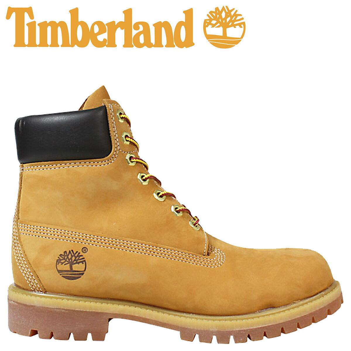 Timberland ブーツ メンズ 6インチ ティンバーランド 6INCH PREMIUM WATERPROOF BOOTS 10061 プレミアム ウォータープルーフ [予約商品 7/26頃入荷予定 追加入荷]