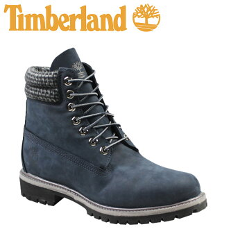 ba10751958f Timberland Timberland 6 inches premium pre-id boots 6 PREMIUM PLAID BOOTS  nubuck waterproofing 6,612A navy men
