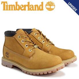 Timberland ティンバーランド チャッカ ブーツ レディース メンズ NELLIE CHUKKA DOUBLE WATERPLOOF BOOTS Wワイズ 防水 ウィート 23399
