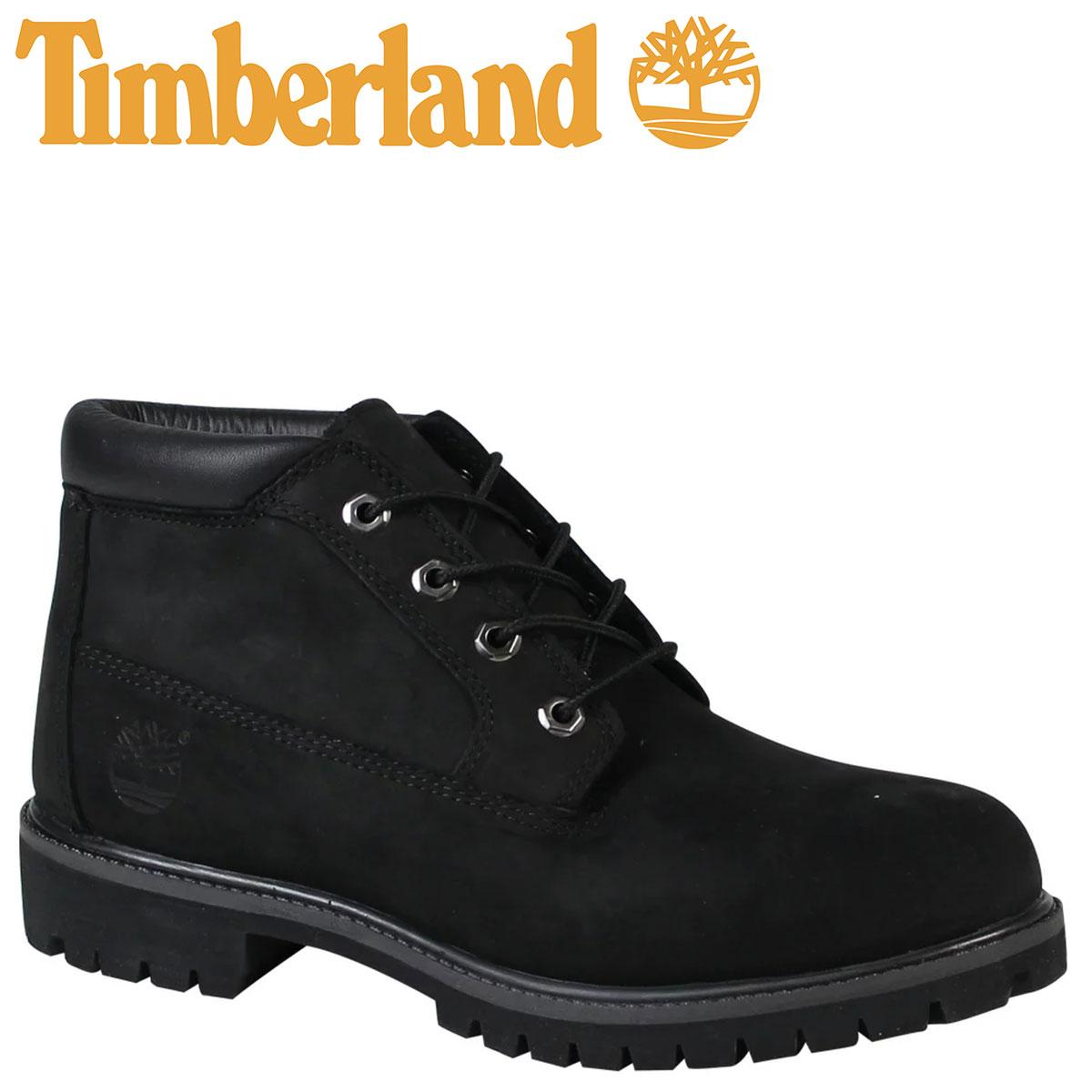 Timberland ブーツ チャッカ メンズ ティンバーランド ICON WATERPROOF CHUKKA 32085 Mワイズ 防水 ブラック