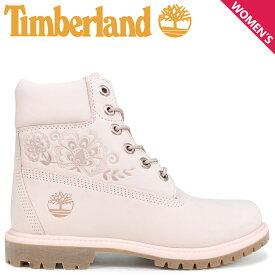 Timberland ブーツ レディース 6インチ ティンバーランド 6-INCH PREMIUM BOOTS A1TKO Wワイズ ピンク