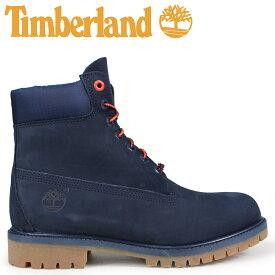 Timberland ブーツ メンズ 6インチ ティンバーランド 6-INCH PREMIUM BOOTS A1U7X Wワイズ ネイビー