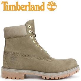 Timberland ブーツ メンズ 6インチ ティンバーランド 6-INCH PREMIUM BOOTS A1UFS Wワイズ ダークベージュ