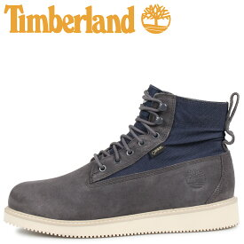 Timberland ティンバーランド ブーツ メンズ ミクストメディア ミッド MENS WATERPROOF MIXED-MEDIA MID BOOTS ダーク グレー A263U