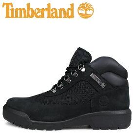 Timberland ティンバーランド フィールド ブーツ メンズ FIELD BOOT F/L WATERPROOF Mワイズ 防水 ブラック 黒 A1A12 [2/14 追加入荷]