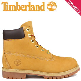 Timberland レディース ブーツ 6インチ ティンバーランド JUNIOR 6INCH PREMIUM WATERPROOF BOOTS 12909 プレミアム ウォータープルーフ [予約商品 9/13頃入荷予定 追加入荷]