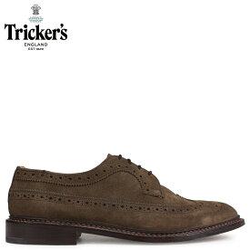 Trickers トリッカーズ ウイングチップ シューズ RICHARD 5ワイズ メンズ ブラウン 5164