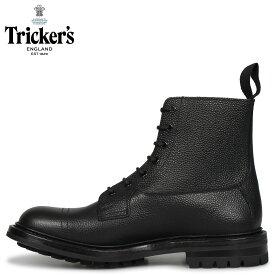 Trickers トリッカーズ カントリーブーツ GRASSMERE 5ワイズ メンズ ブラック 黒 6895