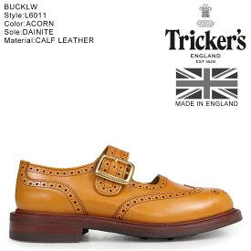 Trickers トリッカーズ レディース ウイングチップ シューズ BUCKLE L6011 4ワイズ