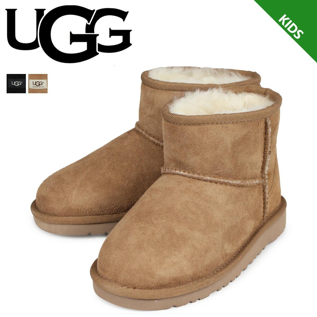 アグ UGG ブーツ ムートンブーツ キッズ クラシック ミニ レディース 1003637K KIDS CLASSIC MINI 正規品