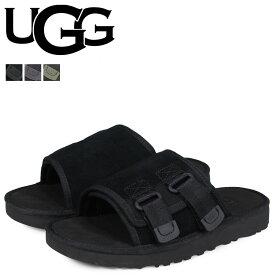 【24%OFF!決算SALE!】 アグ UGG サンダル デューン スライド メンズ MENS DUNE SLIDE SANDAL ブラック 黒 グレー グリーン 1099752