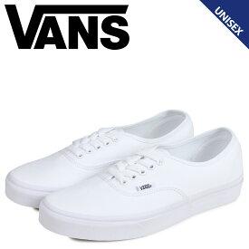 バンズ VANS オーセンティック スニーカー メンズ レディース ヴァンズ AUTHENTIC ホワイト 白 VN000EE3W00
