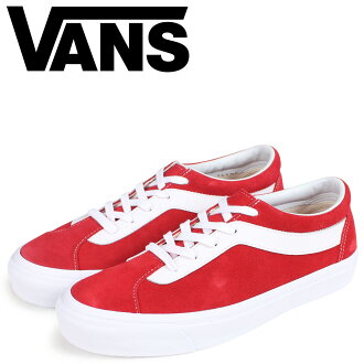 Vans boldface knee sneakers men VANS station wagons BOLD NI VN0A3WLPULC red [load planned Shinnyu load in reservation product 10/25 containing]