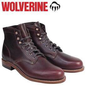 【最大600円OFFクーポン】 WOLVERINE 1000マイル ブーツ ウルヴァリン 1000MILE ワークブーツ BOOT NO 8 W00137 コードバン メンズ