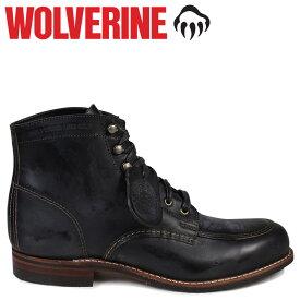 WOLVERINE 1000マイル ブーツ ウルヴァリン 1000MILE ワークブーツ COURTLAND BOOT Dワイズ W00279 ブラック 黒