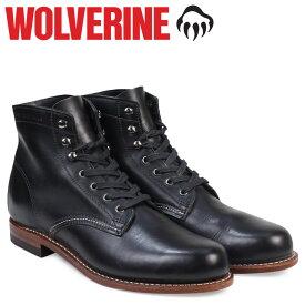 WOLVERINE 1000マイル ブーツ ウルヴァリン ブーツ メンズ 1000 MILE BOOT Dワイズ W05300 ブラック 黒 ワークブーツ