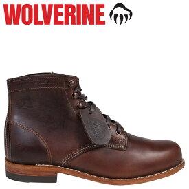 WOLVERINE 1000マイル ブーツ ウルヴァリン ブーツ 1000 MILE BOOT Dワイズ W05301 ブラウン ワークブーツ メンズ