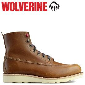 WOLVERINE ブーツ ウルヴァリン メンズ LOUIS WEDGE BOOT Dワイズ W40410 ダークトープ ワークブーツ