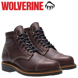 WOLVERINE ブーツ ウルヴァリン メンズ JENSON BOOT WATERPROOF Dワイズ W40419 ワークブーツ ブラウン