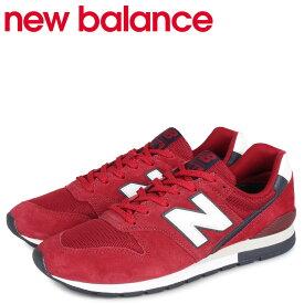 new balance ニューバランス 996 スニーカー メンズ Dワイズ レッド CM996RA [12/24 新入荷]