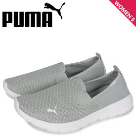 PUMA プーマ フレックス リニュー スニーカー スリッポン レディース FLEX RENEW SLIP-ON ホワイト 白 37195102