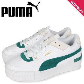 PUMA プーマ カリ スニーカー レディース 厚底 CALI SPORT HERITAGE WNS ホワイト 白 37308003