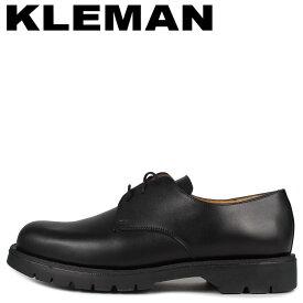 クレマン KLEMAN シューズ プレーントゥ メンズ DORMANCE P1 ブラック 黒