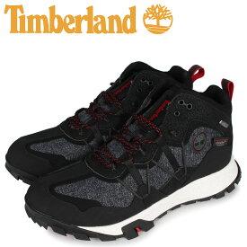 Timberland ティンバーランド ギャリソン トレイル ミッド ウォータープルーフ トレイルシューズ メンズ GARRISONTRAIL MID WP ブラック 黒 A289U