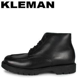 クレマン KLEMAN アンクルブーツ メンズ 厚底 OXAL KP ブラック 黒