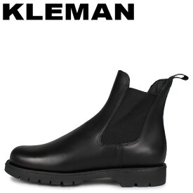 【最大1000円OFFクーポン】 KLEMAN クレマン 靴 ブーツ サイドゴアブーツ チェルシー メンズ TONNANT ブラック 黒