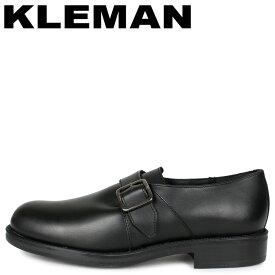 クレマン KLEMAN モンクストラップシューズ ビジネスシューズ メンズ ODESSA ブラック 黒 KA28102