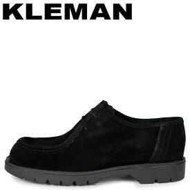 クレマン KLEMAN チロリアン シューズ メンズ PADROR VV ブラック 黒 KZ55102
