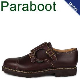 PARABOOT パラブーツ ウィリアム 靴 シューズ ダブルモンクシューズ メンズ レディース WILLIAM ブラウン 981413