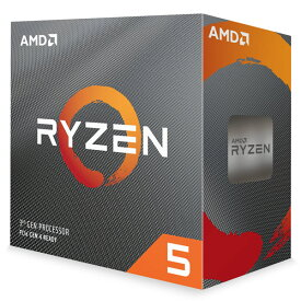【送料無料】 AMD Ryzen 5 3600 CPU 3.6GHz 6コア 65W