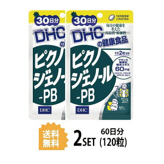 DHC 피크노제노르 PB 30일분×2 팩(120알갱이) 디에이치시