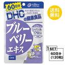 【送料無料】 DHC ブルーベリーエキス 60日分 (120粒) ディーエイチシー サプリメント