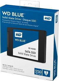 【送料無料】Western Digital WD BLUE SSD 250GB WDS250G2B0A ウエスタンデジタル