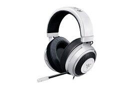 【送料無料】 Razer ステレオ ゲーミングヘッドセット RZ04-02830400-R3M1レイザー Razer Kraken Mercury White