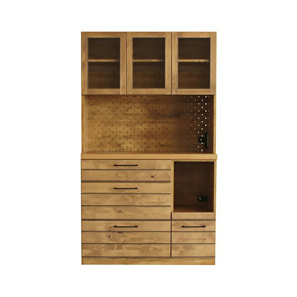 Domestic Kitchen Board Lina Completed 105 Width Kitchen Shelf With Cupboard  Kitchen Storage Drawer Kitchen Storage Wood Natural Nordic Country Range  Units ...