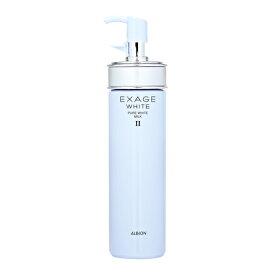 【送料無料】 ALBION エクサージュホワイト ピュアホワイト ミルク II 200g (ノーマルスキン用) EXAGE 乳液 スキンケア おすすめ乳液 化粧水 シミ ソバカス 美白 UV対策 基礎化粧品