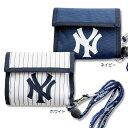 ニューヨークヤンキース横型ウォレット(NY メジャーリーグ | 野球 | 子供用財布 キッズ財布 ニューヨークヤンキース財布 | パスケース | やんきーす N...