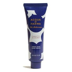 アクアディパルマ ACQUA di PARMA キノット ハンドクリーム Hand Cream CHINOTTO di LIGURIA 30ml