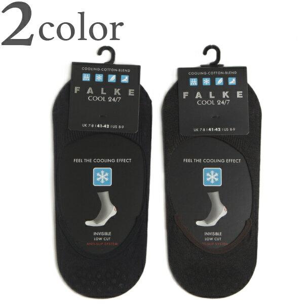 FALKE ファルケ 靴下 インビジブル ステップ ソックス COOL 24/7 チャコールグレー/ダークネイビー